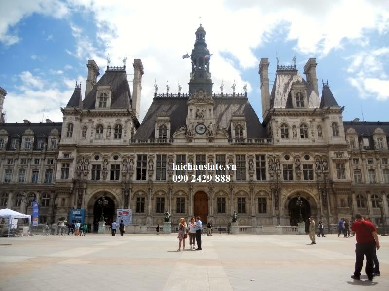 Chiêm ngưỡng tòa thị chính của Paris lợp Đá Slate