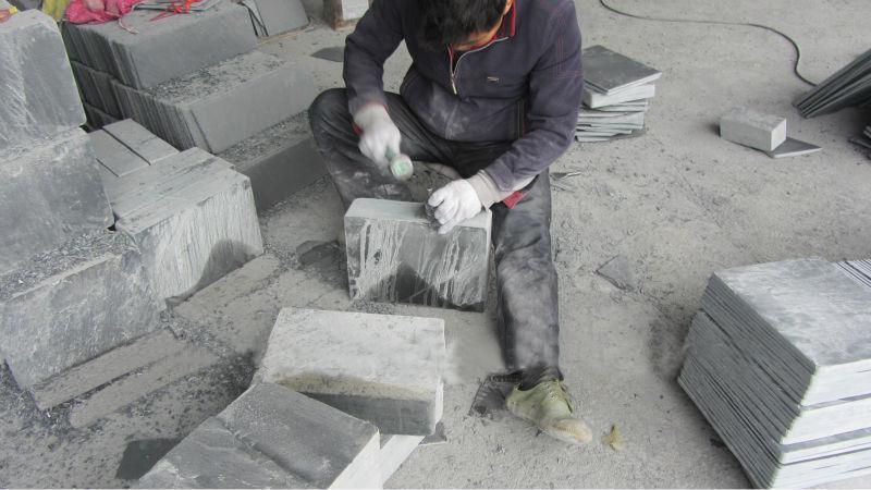 Cuộc sống công nhân, kỹ sư khai thác và sản suất đá đen Lai Châu