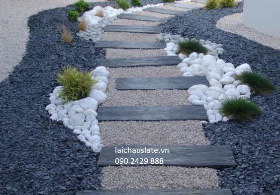 Vụn đá cho tiểu cảnh sân vườn