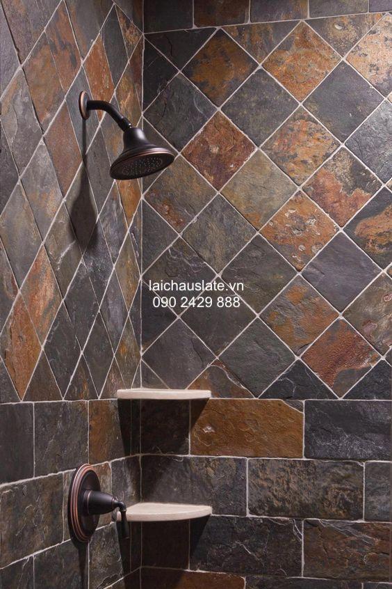 9 ý tưởng ốp lát nhà tắm với đá tự nhiên