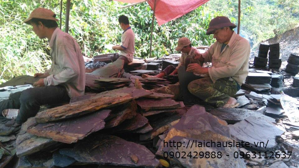 Tổng mỏ đá Lai Châu - cung cấp Đá phiến slate chất lượng nhất