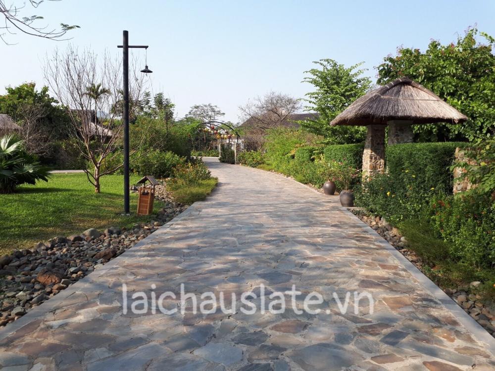 Đá rối Lai Châu - sản phẩm đá tự nhiên ốp lát sân vườn giá rẻ